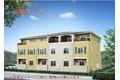 愛知県岡崎市、岡崎駅徒歩16分の築5年 3階建の賃貸アパート